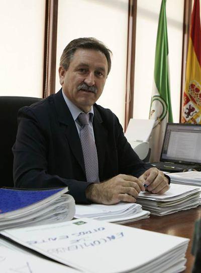 Francisco Espinosa Gaitán, en su despacho de EPSA.