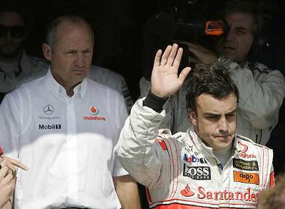 Ron Dennis asegura que el fallo era Fernando Alonso. 1186264803_850215_0000000000_sumario_normal