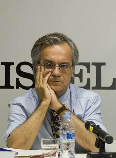 Miquel Porta, en un debate, el pasado mayo.