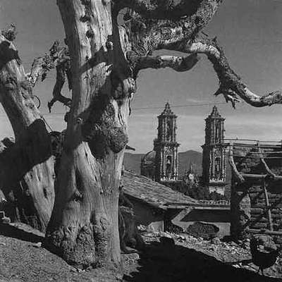 Tepeaca (Puebla),  imagen de Juan Rulfo (propiedad de Clara Aparicio de Rulfo).