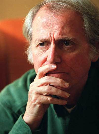Don DeLillo, fotografíado en Madrid en 2003.