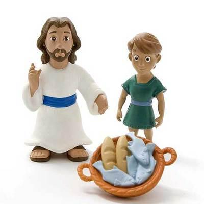 Uno de los muñecos de jezucristo que venden los supermercados Wal-Mart