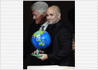 Agassi recibe el Clinton global