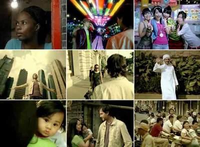Imágenes del vídeo promocional de la nueva versión de EL PAÍS, rodado en Shanghai, metáfora de la ciudad global contemporánea.