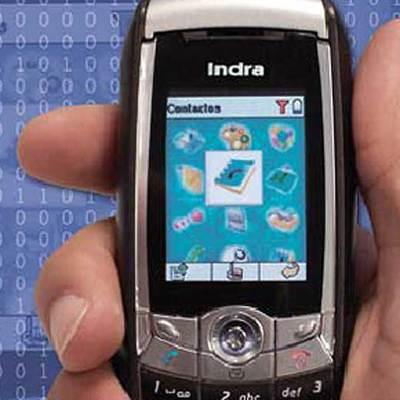 El teléfono seguro de Indra.