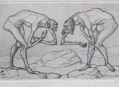 Dos hombres se encuentran y cada uno presupone del otro que es de mayor rango.
