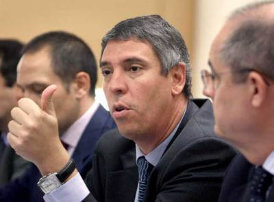 José Vicente de los Mozos, durante la rueda de prensa de ayer.