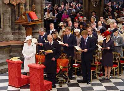 Bodas de diamante de Isabel II y el duque de Edimburgo