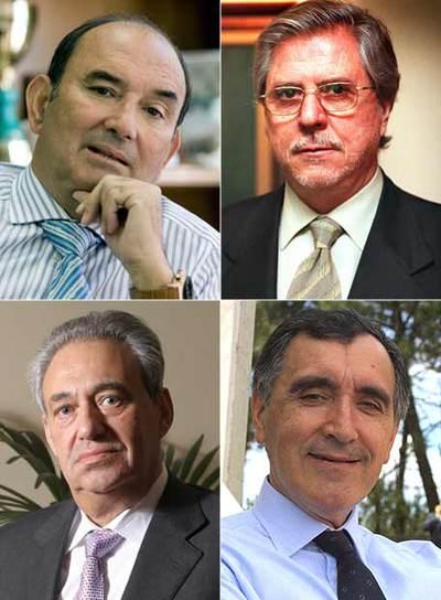 Félix Revuelta, Albert Costafreda, Manuel Jove y José María Castellano.