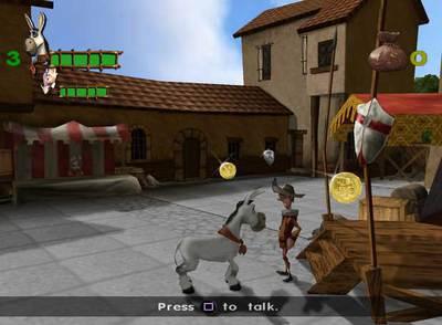 Imagen del videojuego Donkey Xote.