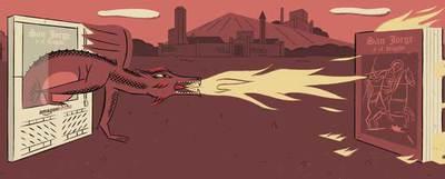 Ilustración del artista Gabi Beltrán.