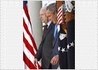 McCain conquista la candidatura republicana y recibe el apoyo de Bush