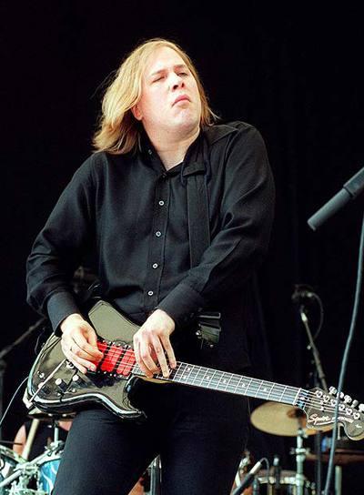 Jeff Healey, en una actuación en Nueva York en 2000.