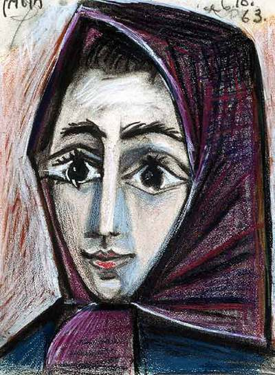 Picasso Jacqueline Roque Jacqueline Por Picasso