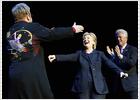 La noche de Elton y Hillary