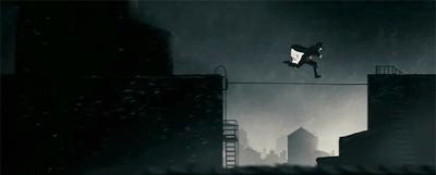 Un espectacular fotograma de la adaptación al cine de  The Spirit,  de Frank Miller.