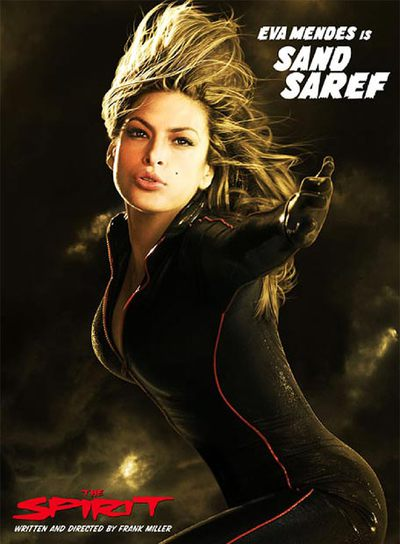 Eva Mendes es una de las heroínas de la película de Miller.