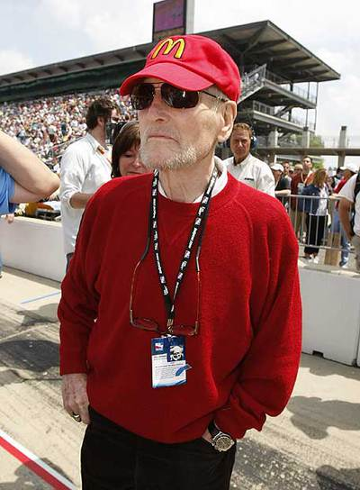 Paul Newman, el pasado 10 de mayo en las 500 millas de Indianápolis.