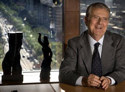 Javier Godó, en su despacho de Barcelona.