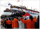 Los 'kikos' eclipsan al Papa