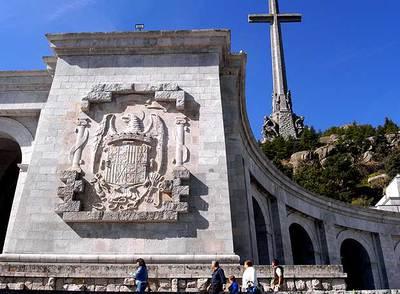 La basílica del Valle de los Caídos (Madrid), en la que Franco se hizo enterrar con miles de republicanos.