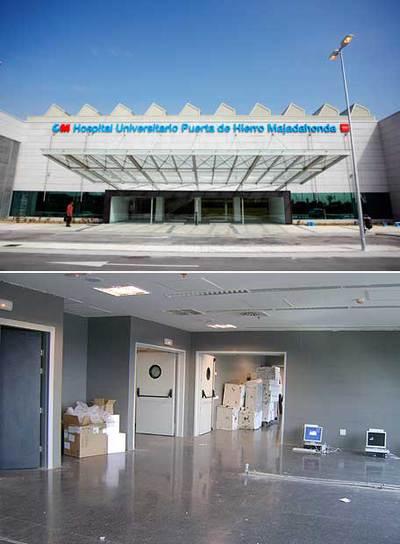 El nuevo puerta de hierro abre con los laboratorios - Hospital puerta de hierro majadahonda ...