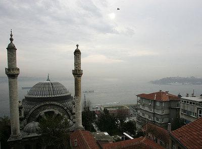 Vista de Estambul desde el estudio de Orhan Pamuk.