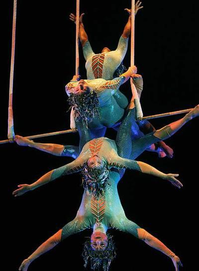 Vuelven las acrobacias imposibles del cirque du soleil for Espectaculo circo de soleil