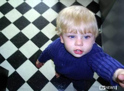 El bebé muerto en Reino Unido víctima de malos tratos, en una imagen difundida por la cadena ITV.