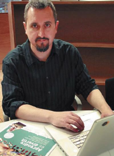 Martin Dougiamas, en Barcelona.