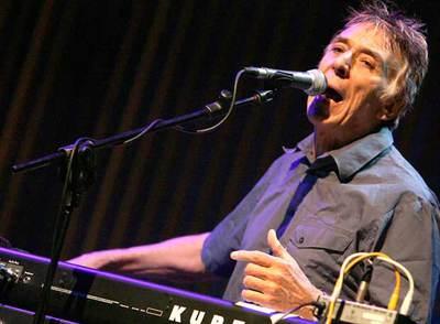 John Cale, durante un concierto la semana pasada.