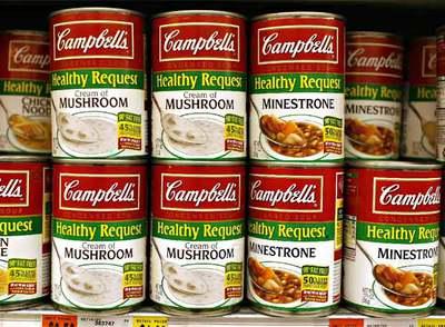 Los ingresos por la venta de la icónica lata roja y blanca de sopas han subido un 12% en EE UU.