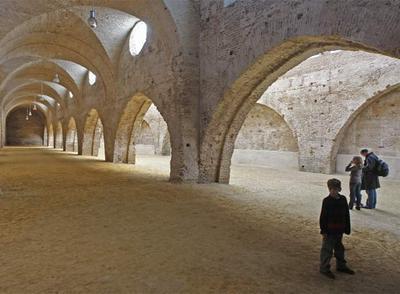 Interior de las Reales Atarazanas de Sevilla.