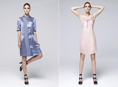 Modelos de Sandrina Fasoli para la colección de primavera de  Mango.