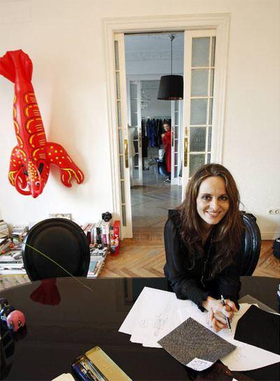 La diseñadora Ana Locking.