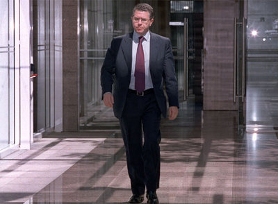 El consejero de Presidencia de la Comunidad de Madrid, Francisco Granados, en el Parlamento regional.