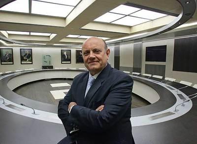 Juan Ramón Quintás, presidente de la Confederación Española de Cajas de Ahorros.
