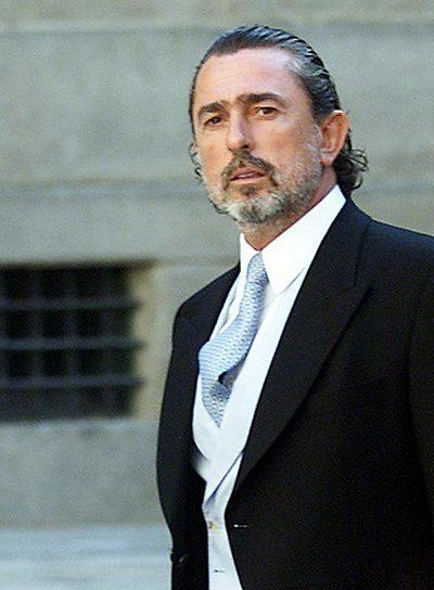 Francisco Correa, en la boda de Alejandro Agag.