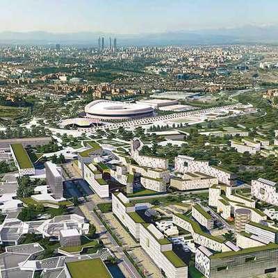 El paseo olímpico integrará las grandes instalaciones deportivas y será el corazón de los Juegos.