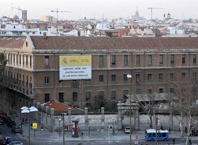 El edificio de Tabacalera en Madrid, que será la futura sede del Centro Nacional de Artes Visuales.