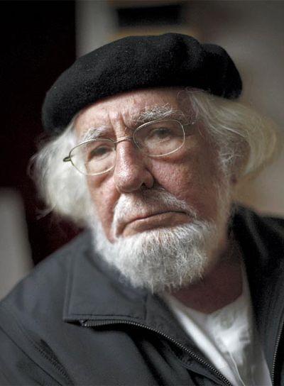 El poeta y sacerdote nicaragüense Ernesto Cardenal, el pasado jueves en Madrid.