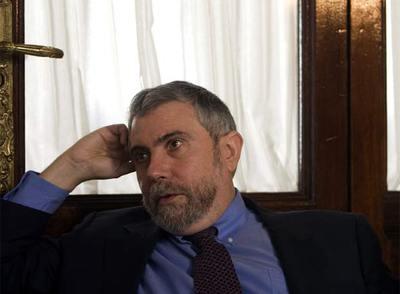 Krugman, el pasado viernes en Sevilla.