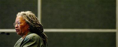 La escritora estadounidense y premio Nobel de Literatura Toni Morrison.