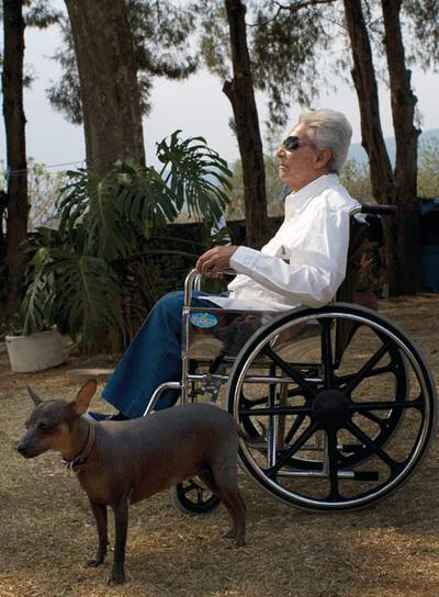 La cantante, en su casa de Tepoztlan, un lugar mágico a una hora en coche desde  la ciudad de México.