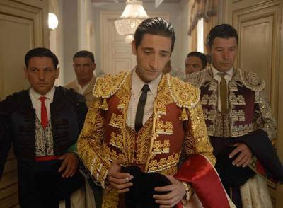 Adrien Brody, durante el rodaje de Manolete (2006), aún no estrenada por problemas entre los técnicos y el productor.