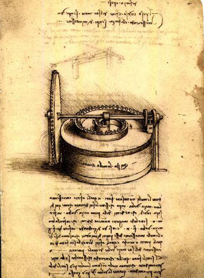 Cada página de Da Vinci era considerada una unidad independiente.