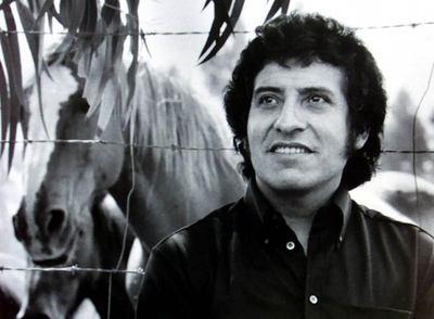El cantante chileno Víctor Jara.