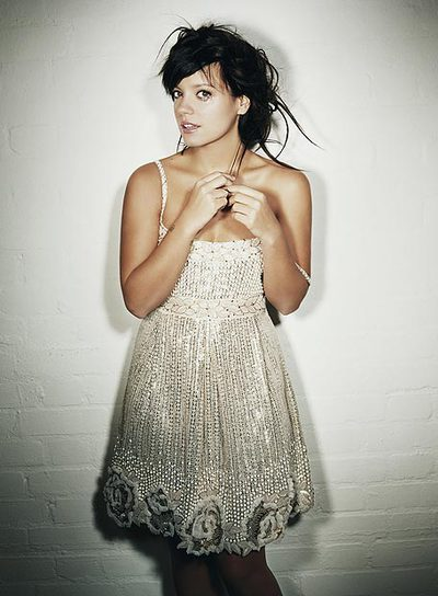 La cantante de pop Lilly Allen.