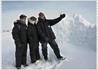 Tres herederos a 20 grados bajo cero
