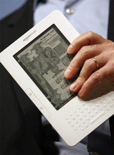 Kindle 2, el nuevo modelo de libro electrónico de Amazon.